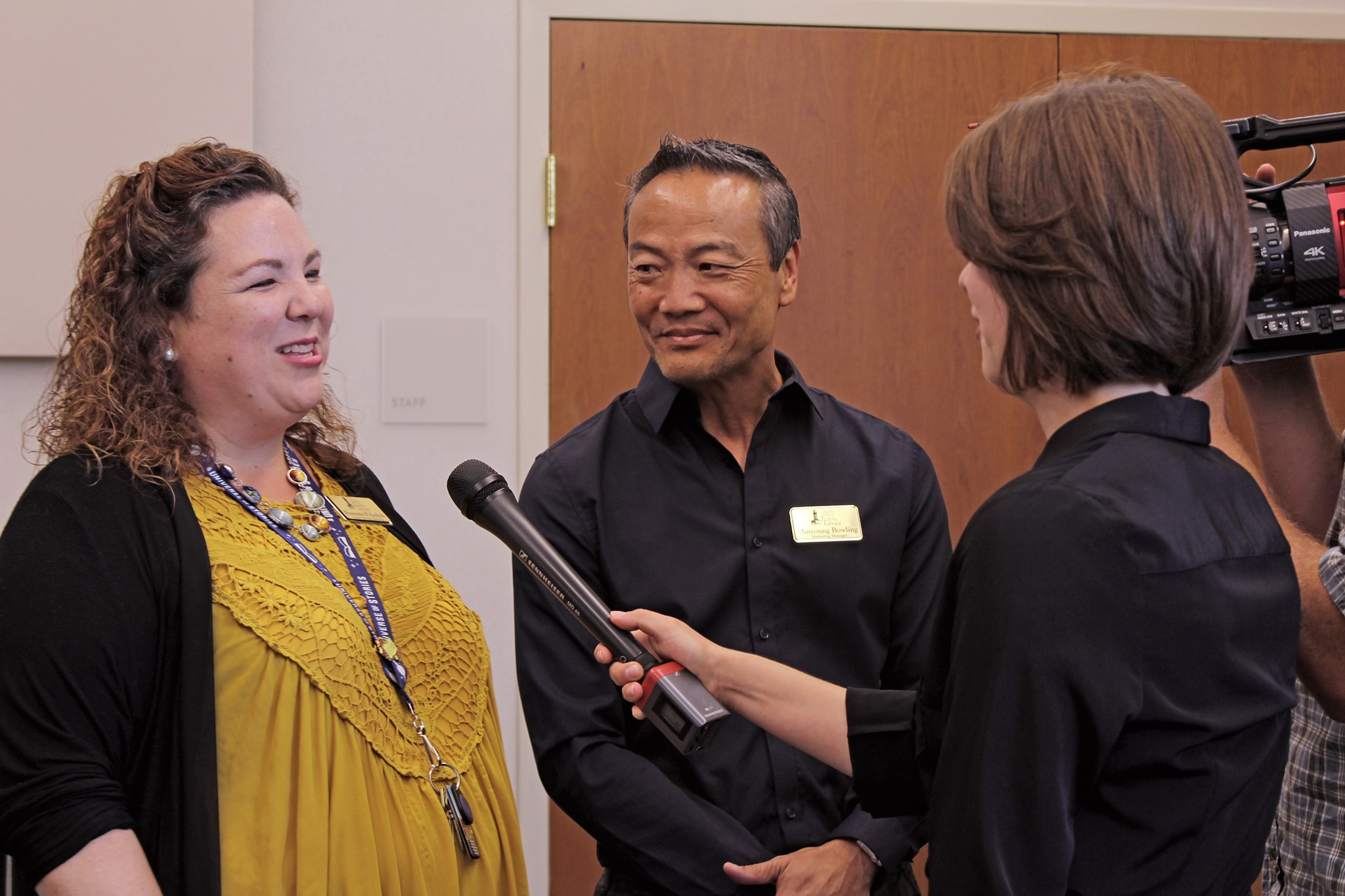 Roseann and Minyoung was interviewed during the Summer Reading Global launch