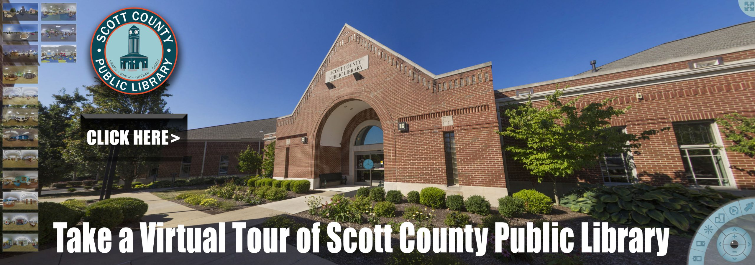 Virtual Tour of Scott County Public Library
