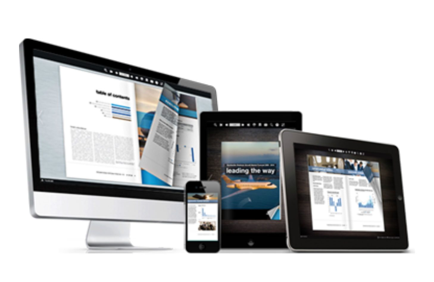 emagazine can be stream to your device for you to browse your favorite magazines