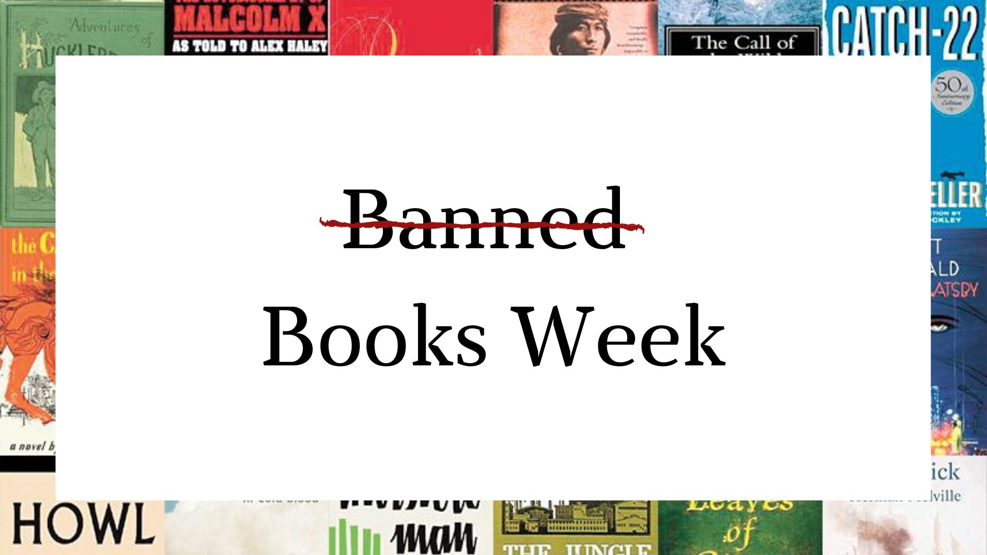 Banned Books Week Blog Post Image