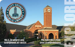 Scott County Public Library Card
