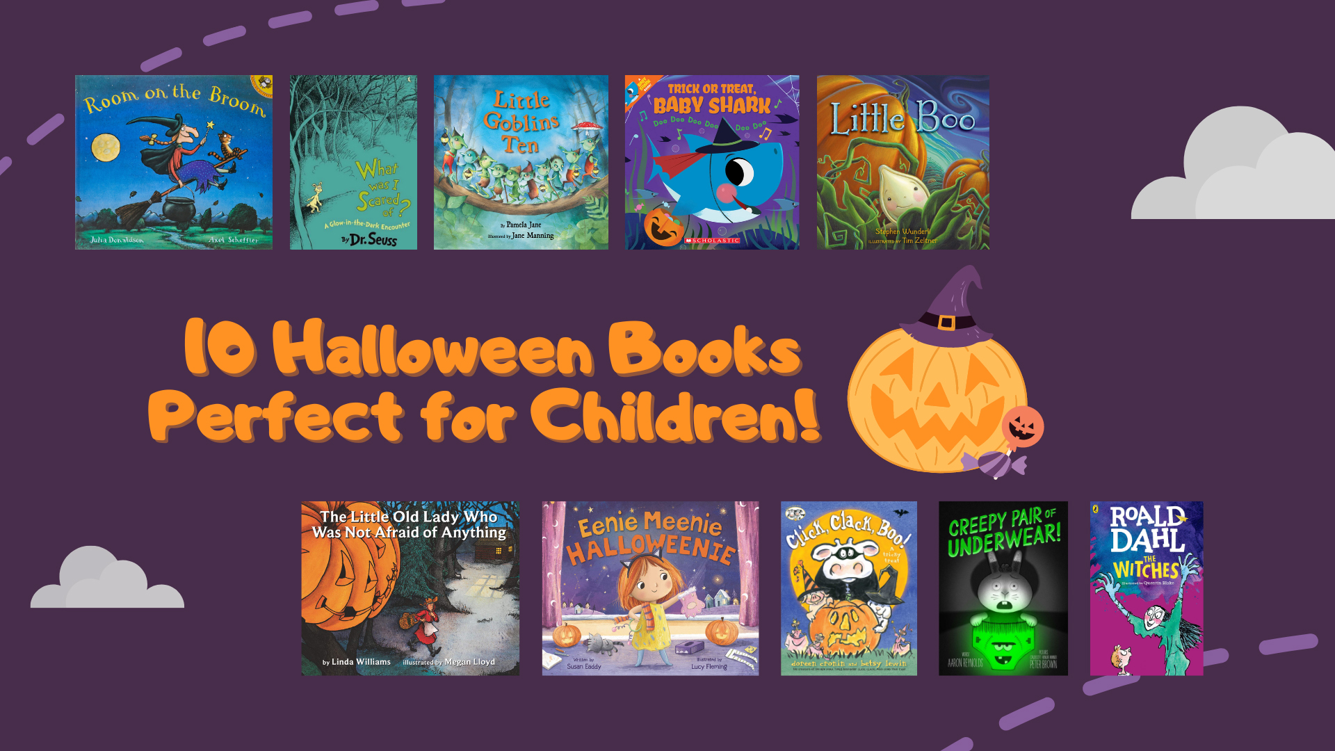 10 Halloween Books Perfect for Children