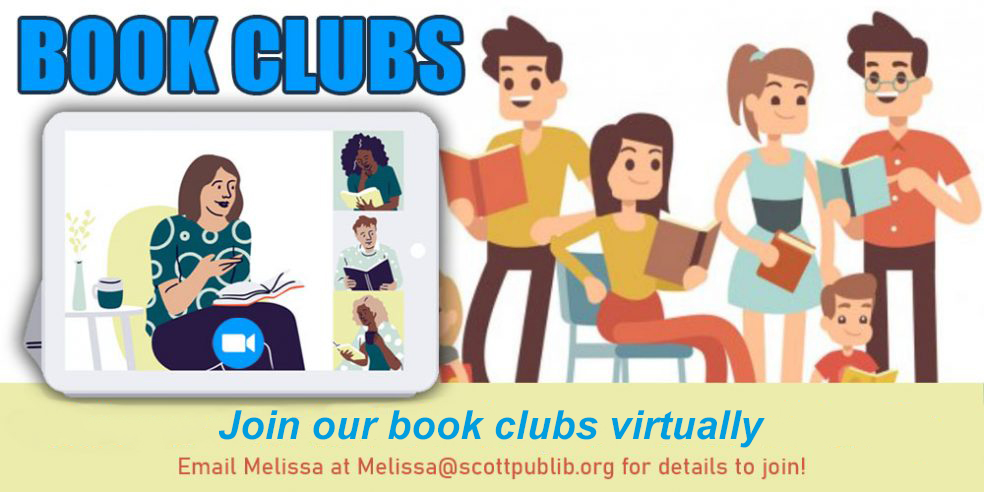 SCPL Book Discussions Available Virtually