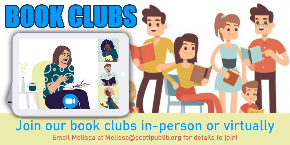SCPL Book Discussions Promo Image