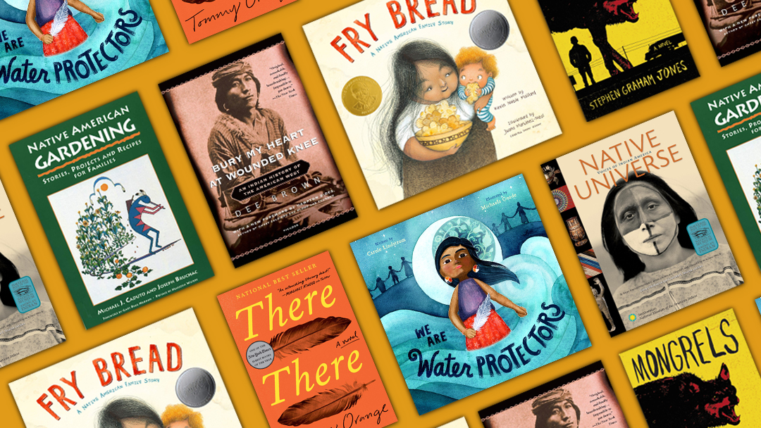 Native American Heritage Month Recommended Books