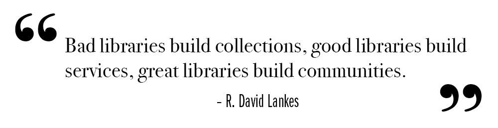Testimonial about public librarys