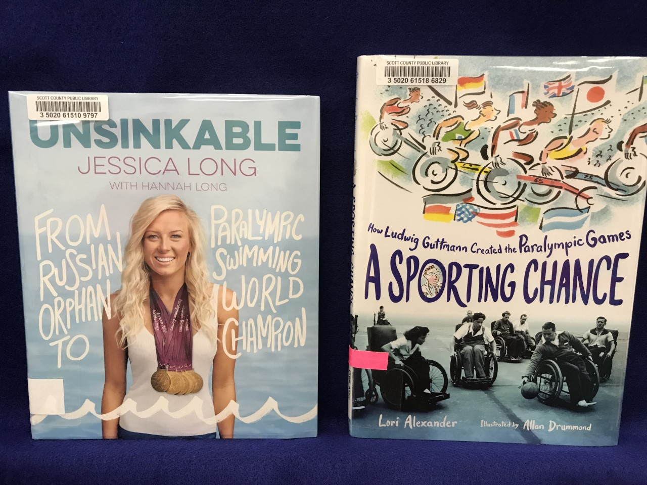 Paralympic books